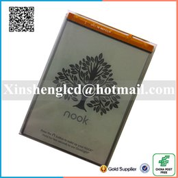 Wholesale Ebook Reader Light - Wholesale- 6.0inch E-Ink touch Screen With light For Barnes & Noble Nook GlowLight Reader Ebook eReader LCD Display Panel free shipping