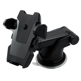 Wholesale gps suction cups - Car Phone Mount Holder Cradle Flexible 360 Rotating with Suction Cup Car Accessories for Smartphones or GPS Devices (Black)