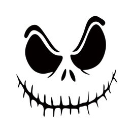 Wholesale Jack Nightmare Before Christmas Cartoon - Hot Sale For Nightmare Before Christmas Jack Car Styling Jdm Car Graphic Decal Vinyl Decorative Art Sticker Accessories
