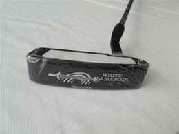 Wholesale White Golf Shaft - ODS White DAMASCUS #1 Putter ODS Golf Putter ODS OEM Golf Clubs 33 34 35 Inch Steel Shaft With Head Cover