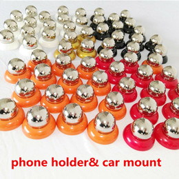 Wholesale Gps Box Packing - Universal magnet phone holder car mount 360 rotary magnetic cell mobile stand stent holders with retail pack box for iphone 7 ipad gps s8