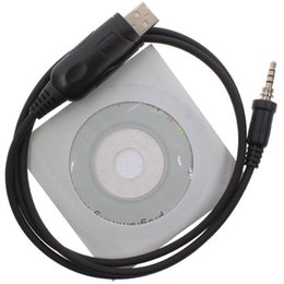 Wholesale Vertex Radio Wholesale - Wholesale- USB Programming Cable Cord for Yaesu Vertex Standard Horizon Radio HX370E VX-6R VX-7R VX-7E HX750 VX-120 VXA-700 1-pin