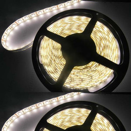 Wholesale Glue Led Strip - Low price 72W 300leds nonwaterproof white color 5M 60LED 14.4W 10MM width SMD5050 3M Glue DC12V Morden led strip lights entertainment lamp