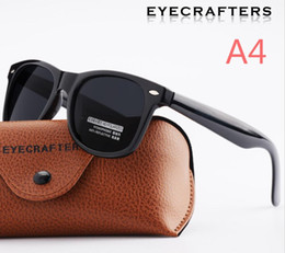 Wholesale Brand Cloth For Women - Brand new sunglasses for women Square polarized sunglasses Bright black all gray UV400 with Glasses cloth bag box DS97-2