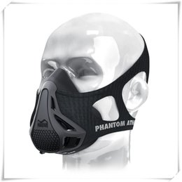 Wholesale Sports Training Equipment - Mask sports training mask Boxing Newest pacakge classic black Sports Training Equipment 10 p l free shpping