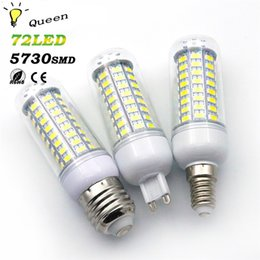 Wholesale E27 13w Energy Saving - Wholesale- 10pcs G9 E27 E14 25w 20w 15w 13w Lamparas Led Light Bulb 220V SMD 5730 Ampoule LED Energy Saving Lamp Lighting Milight Lampen