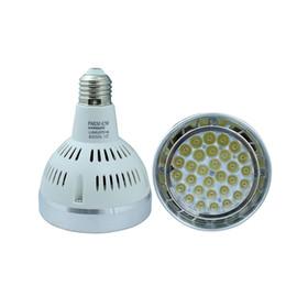 Wholesale Inside Home Lamps - Led Lamp E27 Spotlight Par30 42W LED Lamp Bulb light fan inside AC85V-265V Led Lighting Warm Cool White For Home lighting