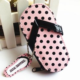 Wholesale Popular Slippers - Manicure Kit Pink Slippers Shape Popular Giveaway Creative Nail Bags Four Piece Suit Wedding Favor Souvenirs Hot 5cda F R