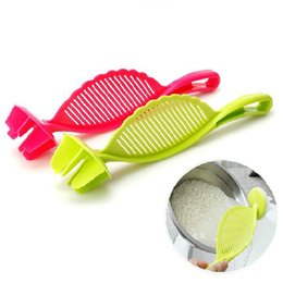 Wholesale Rice Wash - Rice Strainer Plastic Kitchen Tools Rice Beans Strainer Sifters Wash Gadget Tools Kitchen Clips Tools DHL Free Shipping