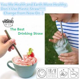 Wholesale Wholesale Drinking Cups Straws - Drinkware 30OZ 20OZ Straws for Stainless Steel Cups Drinking Straws bent straight straws Sip Well Straw Brush  drinking straw I096