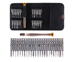 Wholesale Kit Screwdrivers Pc Phone - 25 in 1 Torx Screwdriver Mobile Phone Repair Tool Set For iPhone Cellphone Tablet PC Mobile Phone Electronics Hand Tools Kit Multitool