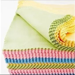 Wholesale Jewelry Cleaning Cloths Free Shipping - Silver Polishing Cloth 10.5*6.5cm Rub silver cloth for 925 sterling silver Jewelry Green and blue pink free shipping