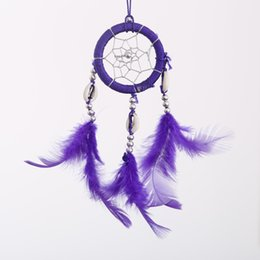 Wholesale Dream Boards - Wholesale- Dream Catcher Feathers Long Wall Car Hanging Ornament Key Chain Ornaments Board Game Gift New