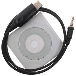 Wholesale Vx Usb Cable - High Quality USB Programming Cable For Handheld Walkie Talkie VX-7R VX-6R VX-170 VX-177 Two Way Radio