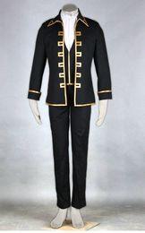 Wholesale Shinsengumi Cosplay - Anime GINTAMA Shinsengumi Captain uniform cosplay costume halloween