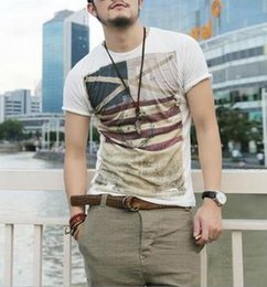 Wholesale Casual Men Wholesale Clothing - Brand new summer style Cotton men Clothing Male Slim Fit t shirt Man T-shirts Casual T-Shirts Swag mens tops tees
