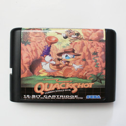 Wholesale Mega Shoot - Quack Shot 16 Bit Game Cart Newest Game Cartridge For Sega Mega Drive   Genesis System