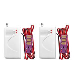 Wholesale Intrusion Detector - LS111- 2pcs lot Wireless 433MHz Water leak sensor Intrusion Detector Work With kerui GSM Home Security Voice Burglar Smart Alarm