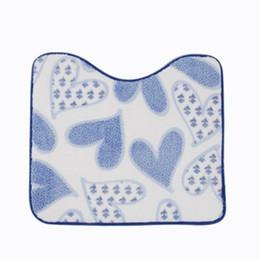 Wholesale heart rugs - Wholesale-New 45*50cm Living room Bedroom Bath Mat Rugs Memory Foam Bath Mat Carpet Floor Mats