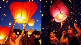 Wholesale Paper Lanterns Lamp Festival - Wedding Oval shape Sky Lanterns, China Wish Paper Balloons Wish Lamp Kong Ming Floating Lamp For Festival