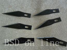 Argentina 200 unids / lote X-ACTO cuchillo # 11 Cuchillo negro hobby cuchillo Cuchillas de punta fina clásica, Paquete a granel, Cuchillas por caja envío gratis Suministro