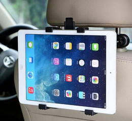 Wholesale Headrest Mount For Tablet - Car Back Seat Headrest Mount Holder For iPad 2 3 4 Air 5 Air 6 ipad mini 1 2 3 AIR Tablet SAMSUNG Tablet PC Stands