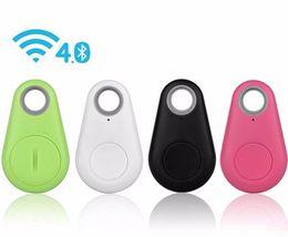 Carteira gps on-line-Smart tag car tracker sem fio bluetooth criança animais de estimação carteira localizador chave localizador gps alarme anti-lost com saco de varejo