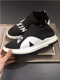 Wholesale Point Socks - Wholesale Luxury Brand Sock Shoes Low Cut Sneakers Black with KING Letter Socks Casual Race Runner High Quality