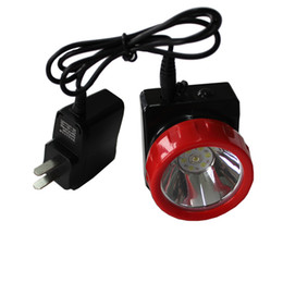 Wholesale Led Mining Cap Lights - Free Shipping LD-4625 LED Miner Safety Cap Lamp LED Mining Light High Safety with Car Charger