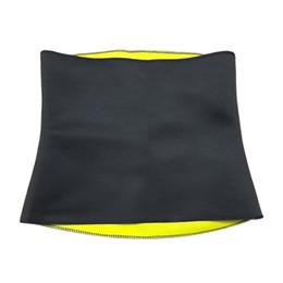 Wholesale Yoga Waist Support - Wholesale- Black Slim Waist Belt Fat Belly Yoga Body Wrap Exercise Body Shaper Hot