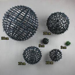 Wholesale Market Baskets - Artificial Rose Pomander Kissing Ball flower ball decorate flower artificial flower for wedding garden market decoration