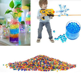 Wholesale Shot Gun Bullets - Paintball A Gun Balls Pistol Toy Gun Bomb Party Toys Shooting Water Gun Crystal Ball Soft Bullets