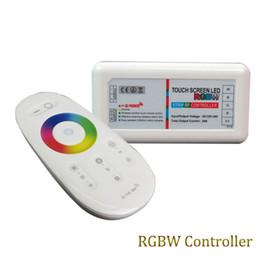2.4g controlador led Desconto DC 12 V-24 V 2.4G Touch Screen LED Controlador RGBW + RF Controle Remoto para RGBW / RGBWW levou tiras