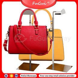 Wholesale Glossy Handbags - Handbag Holder Adjustment Screw Racks Sanding Allen Rosy-Gold Stainless Steel Glossy B007S Free Shipping Fugui display stands Direct Selling