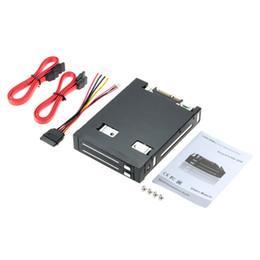 """Plateau de disque dur en Ligne-Vente en gros- Dual Bay 2.5 """"SATA III disque dur boîtier HDD SSD plateau Caddy interne mobile rack disque dur Caddy Docking Station Hot Swap"""