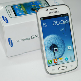 Wholesale Duos S7562 - Samsung GALAXY Trend Duos S7562i S7562 4.0Inch 4G ROM Android 3G WCDMA Refurbished Original Unlocked Cell Phone