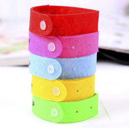 Wholesale Eco Pure - Free Shipping Pure Natural Insect Repellent Wristband Mosquito Repellent Band Bracelets For Baby Women and Men Anti Mosquito QW004