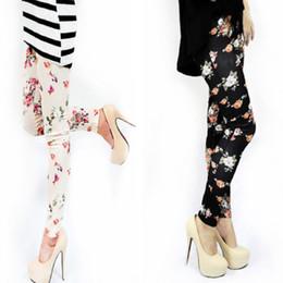 Wholesale Lady Legging Patterned - Wholesale- Legging 2016 Summer Slim Plus Size Woman Jeggings High Quality Active High Waist Color Leggings Ladies Sexy Patterned Leggin