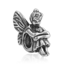 Wholesale Pandora Charms Fairy - Fits Pandora Bracelets 30pcs Angel Fairies Silver Charm Bead Loose Beads For Wholesale Diy European Sterling Necklace Jewelry