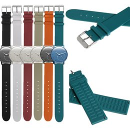 Wholesale 18mm Wristband - Wholesale- 18mm Sports TPU+TPE Wristband Strap for Withings Activite Pop Steel Sapphire Smart Watch