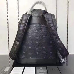 Wholesale Korean Backpacks School Bags Canvas - New Style Brand M Clutch Bag Famous Designer Rivet School Students Backpack Mochilas Travel Bags Handbag Daypacks Clutch Purse