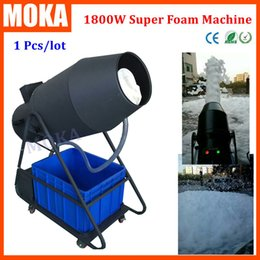 Wholesale Moka MK H03 Spray Foam Machine W Foam Cannon Machine Foam Fantasy Machines for Party Stage Club Special Effect