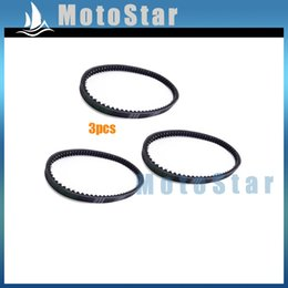 Wholesale Engines For Kart - Wholesale- 3pcs Go Kart 743 20 30 CVT Drive Belt For GY6 125cc 150cc Engine Chinese Moped Scooter 4 Wheeler ATV Quad