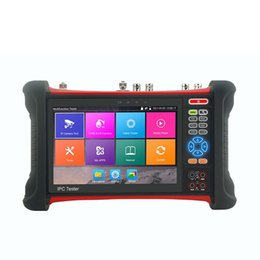 Wholesale Digital Cable Meter - IPCX7 new H.265 4K IP Analog AHD CVI TVI SDI CCTV Camera Tester Monitor with TDR test,Cable tracer,Digital Multi-meter ann