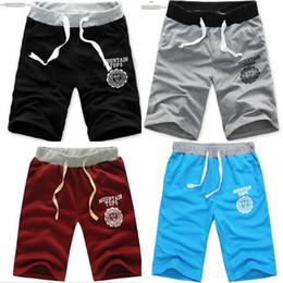 Wholesale Men Pants Laces - 2017 Men Shorts New Mens Hip Hop Sweat Pants Basketball Jogger Baggy Trousers S-XXXL Men Sport Pantalones Pants Man Trousers lace up Capris