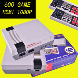 Wholesale Pal Ntsc Hdmi - HD HDMI Out Mini TV Video Handheld Game Console Entertainment System Built-in 600 Classic Games For For Nes Games PAL&NTSC With HDMI OTH667