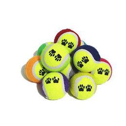 Wholesale Ball Run Toy - Fashion Random Color Pet Dog Training Toys Tennis Balls Run Catch Throw Playing Toy For Small Dogs Chew Toys Diameter 6.5 CM