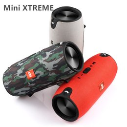 Wholesale Bluetooth Speaker Support Tf Card - Mini Xtreme Bluetooth speakers Outdoor subwoofer waterproof with straps stereo portable MP3 player speaker Support USB TF FM