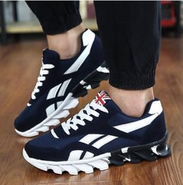 Wholesale Shoes Ultralight - Fashion casual shoes men trainers shoes breathable zapatillas sport men shoes flat jogging canvas Ultralight Trainers