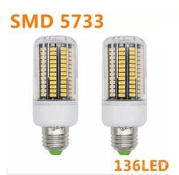 Wholesale spot luz - NEW SMD 5733 E14 Lampada LED Lamp E27 110V Ampoule LED Bulb E27 136LED Luz Bombillas LED Light Bulb Spot Lamparas Spotlight LLFA